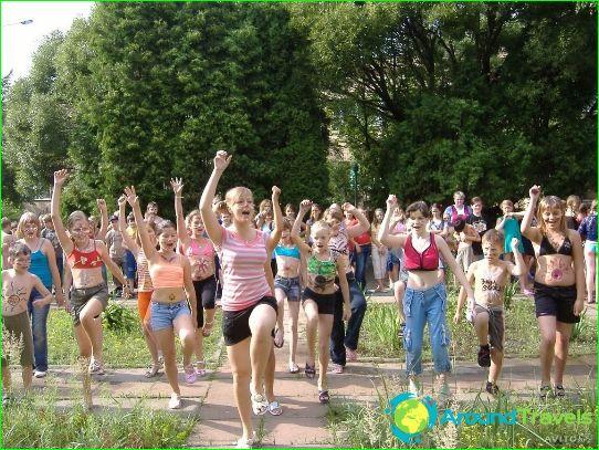 مخيمات للأطفال في موسكو