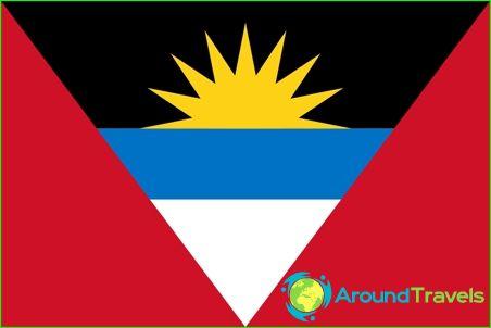 Antiguan ja Barbudan lippu