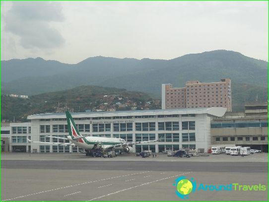 Летище в Каракас
