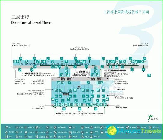 Lentokenttä Shanghaissa