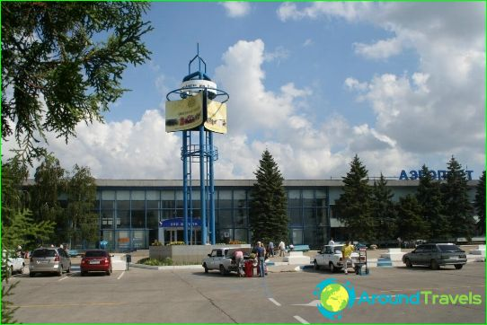 Luchthaven in Anapa