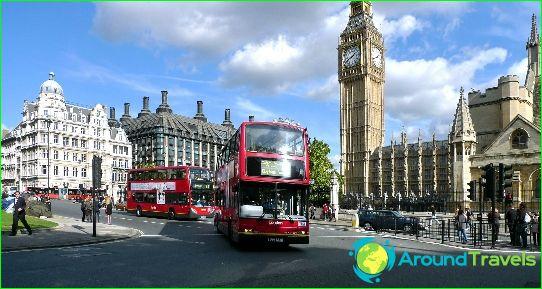 Bussiretket Iso-Britanniaan