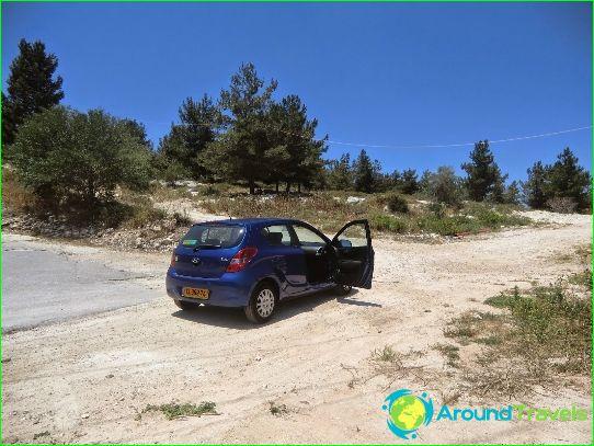 Autonvuokraus Israelissa