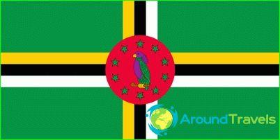 Знаме на доминика