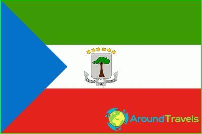 Знаме на Екваториална Гвинея