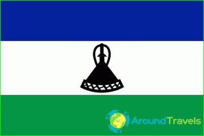 Lesotho lippu