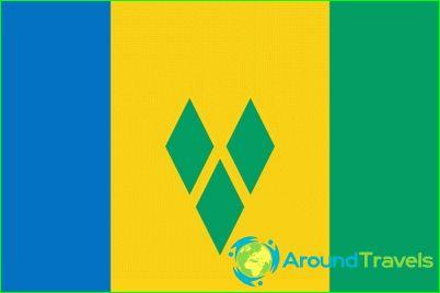 Vlag van Saint Vincent en de Grenadines