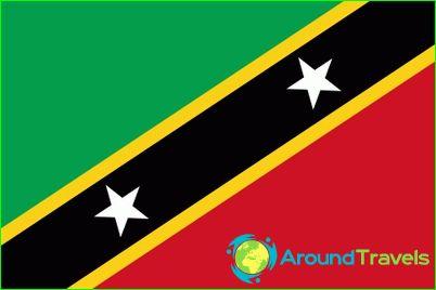 Vlag van Saint Kitts en Nevis