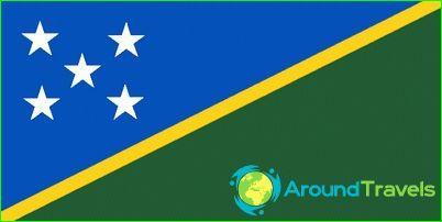 Salomonsaarten lippu