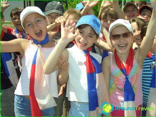 Kinderkampen in Ulyanovsk