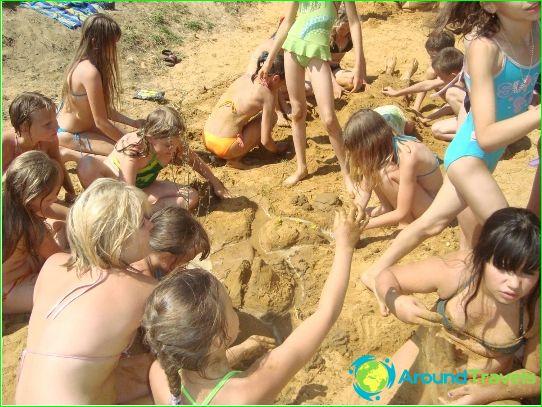 مخيمات للأطفال في سوتشي