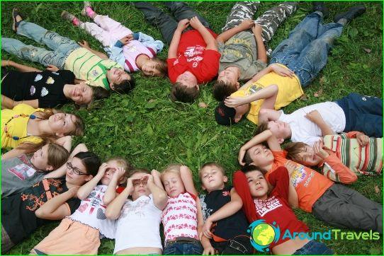 Kinderkampen in de regio Nizhny Novgorod