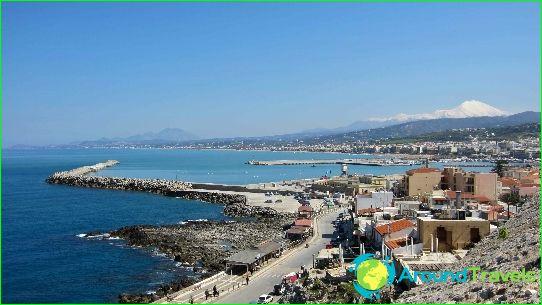 Плажове в Ретимнон