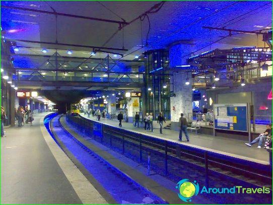 Есенско метро: схема, снимка, описание
