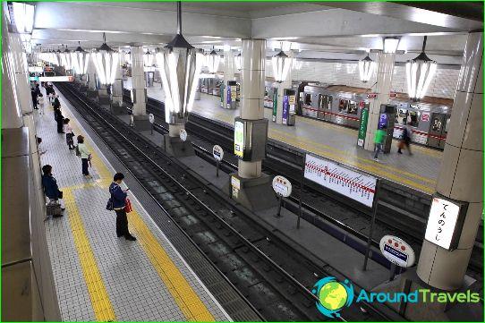 Metro Osaki: kaavio, kuva, kuvaus