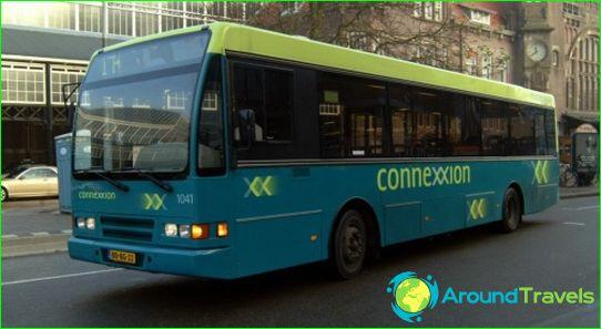 Bussimatkat Hollantiin