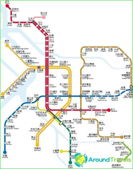 Taipein metrokartta