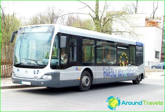 Автобусни турове до Литва