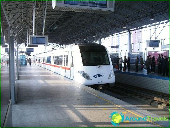Метро Tianjin: диаграма, снимка, описание