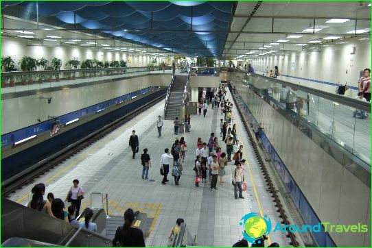 Taipei Metro: kaavio, kuva, kuvaus