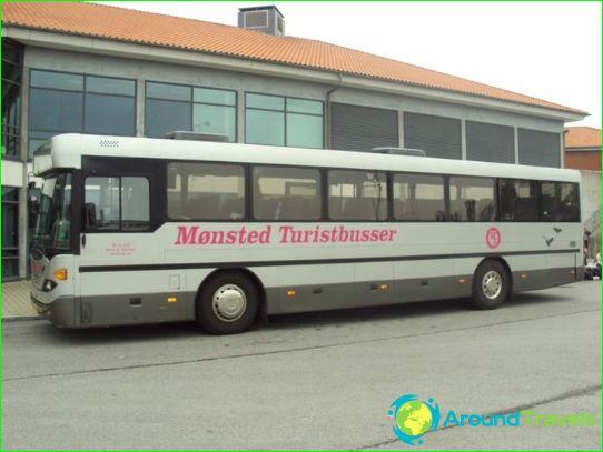 Bussimatkat Tanskaan