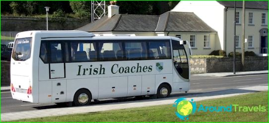 جولات الحافلات إلى أيرلندا