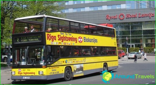 Bussimatkat Latviaan