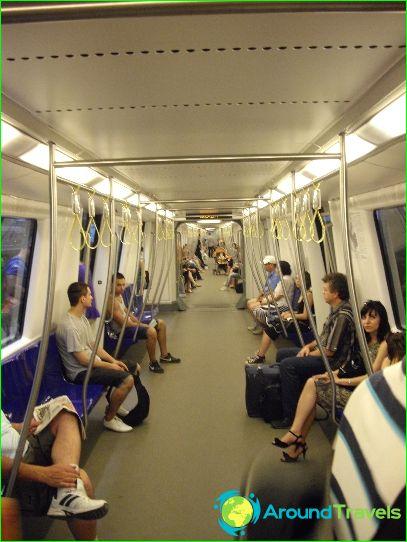 Bukarestin metro: kaavio, kuva, kuvaus