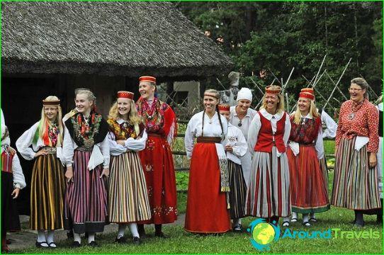 Естонско население