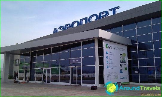 Aéroport à Astrakhan