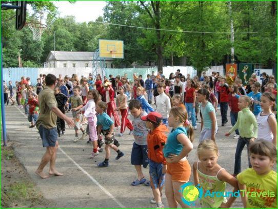 Детски лагери в района на Уляновск
