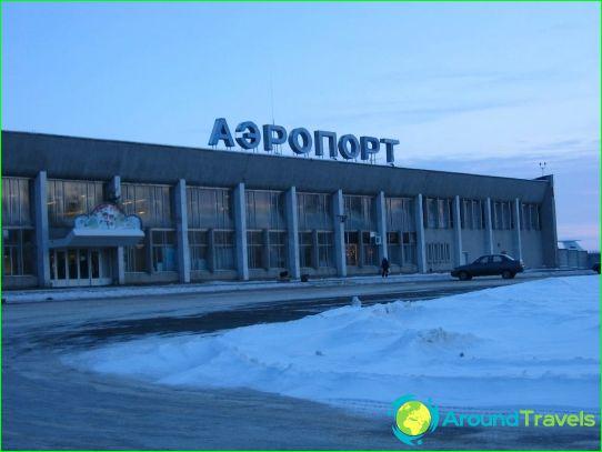 Lentokenttä Iževsk