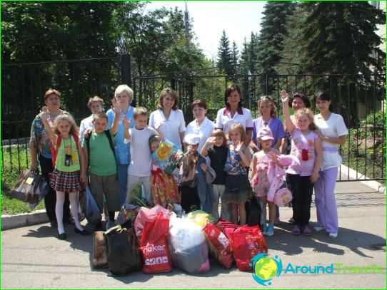 Kinderkampen in Ufa