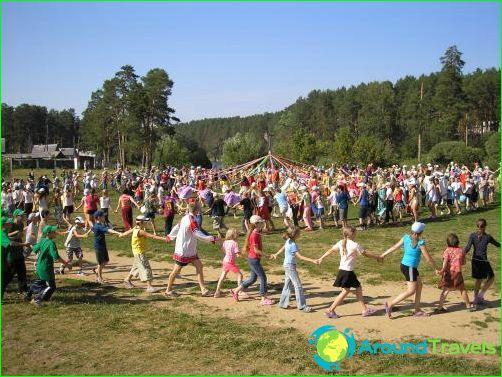 Детски лагери в Екатеринбург