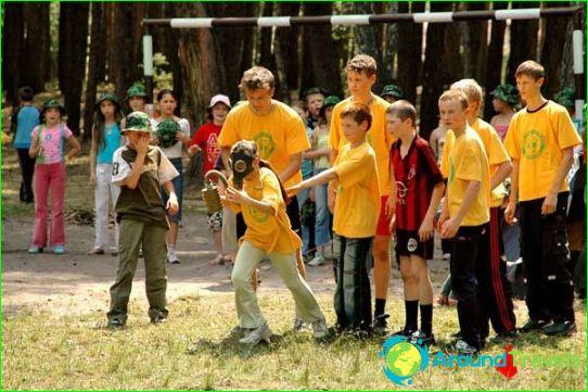 Camps pour enfants à Sviatogorsk
