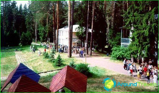 Kinderkampen in Sosnovy Bor