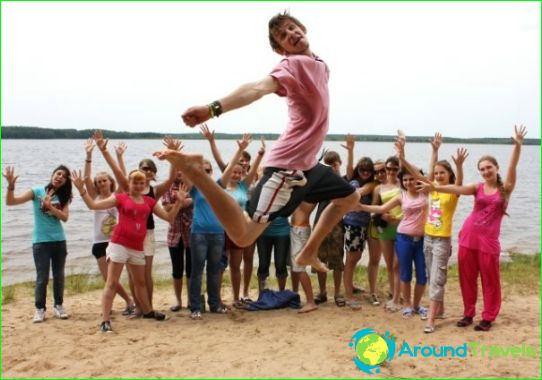 Kinderkampen in de regio Ivanovo