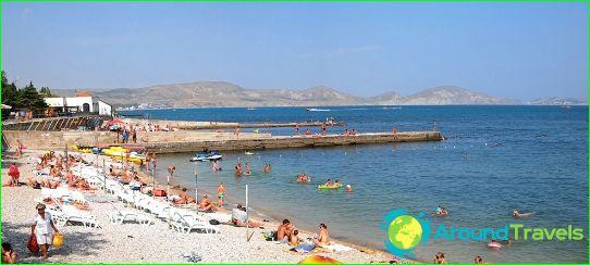 Плажове на Ливадия