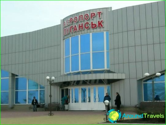 Luchthaven in Lugansk