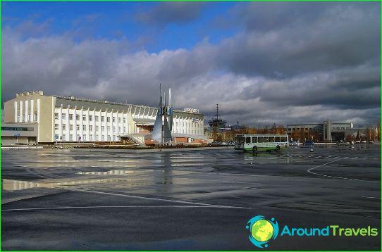 Lentokenttä Nizhnevartovsk