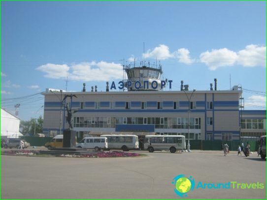 Летище в Syktyvkar