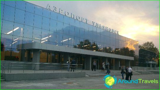Luchthaven in Oeljanovsk