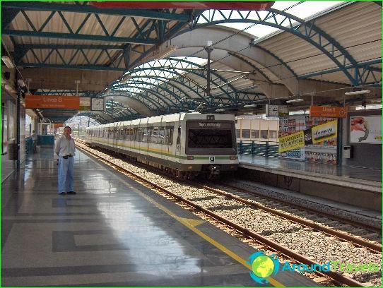 Metro Medellin: kaavio, kuva, kuvaus