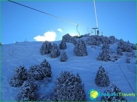Alpine skiën in Kirgizië