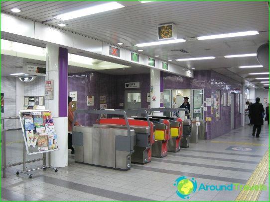 Metro Kyoto: kaavio, kuva, kuvaus