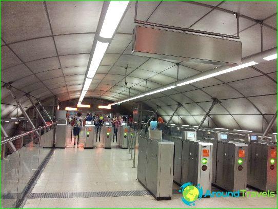 Metro Bilbao: schéma, photo, description