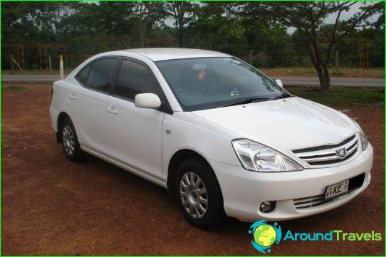 Autoverhuur in Sri Lanka