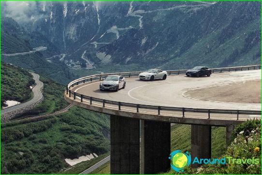 Autonvuokraus Sveitsissä