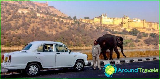 Autonvuokraus Intiassa