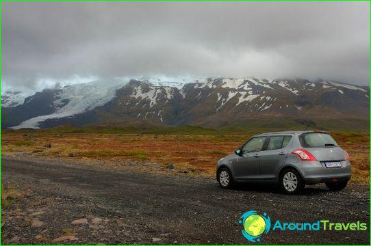 Коли под наем в Исландия